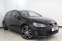 USED 2014 14 VOLKSWAGEN GOLF 2.0 GTD 5DR 181 BHP FULL VW SERVICE HISTORY + BLUETOOTH + CRUISE CONTROL + PARKING SENSOR + CLIMATE CONTROL + 18 INCH ALLOY WHEELS