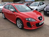 USED 2012 62 SEAT LEON 2.0 SUPERCOPA FR PLUS CR TDI 5d 168 BHP FULL SEAT SERVICE HISTORY WITH TIMING BELT AND WATER PUMP DONE