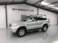 USED 2005 55 TOYOTA LAND CRUISER 3.0 LC3 8-SEATS D-4D 5d 164 BHP