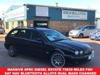 2006 JAGUAR X-TYPE 2.2 SPORT Estate 152 BHP SAT NAV Leather £3995.00