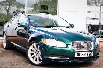 2008 JAGUAR XF 2.7 PREMIUM LUXURY V6 4d AUTO 204 BHP £8460.00