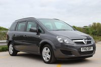 2012 VAUXHALL ZAFIRA 1.8 EXCLUSIV 5d 138 BHP £4893.00