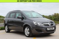USED 2012 12 VAUXHALL ZAFIRA 1.8 EXCLUSIV 5d 138 BHP NEW MOT AND JUST SERVICED