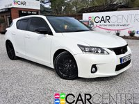 USED 2012 62 LEXUS CT 1.8 200H ADVANCE 5d AUTO 136 BHP 1 PREVIOUS OWNER + FSH