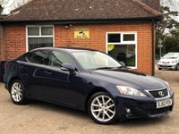 2011 LEXUS IS 2.5 250 ADVANCE 4d AUTO 205 BHP £9995.00