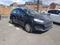USED 2013 13 FORD FIESTA 1.5 TDCI 75 STYLE  FACELIFT FIESTA MODEL EXCEPTIONALLY CHEAP TO RUN!..WITH LOW INSURANCE , LOW CO2 EMISSIONS, LOW ROAD TAX AND EXCELLENT FUEL ECONOMY!..GOOD SPECIFICATION INCLUDING AIR CONDITIONING,AUXILLIARY INPUT AND MEDIA! WITH FULL SERVICE HISTORY(4 SERVICES)