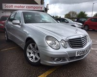 USED 2008 08 MERCEDES-BENZ E CLASS 2.1 E220 CDI EXECUTIVE 4d AUTO 170 BHP