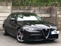 USED 2017 17 ALFA ROMEO GIULIA 2.1 TD SPECIALE 4d AUTO 178 BHP 1 OWNER/LOW MILES/£20 ROAD TAX