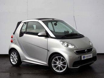 2013 SMART FORTWO CABRIO 0.8 PASSION CDI 2d AUTO 54 BHP