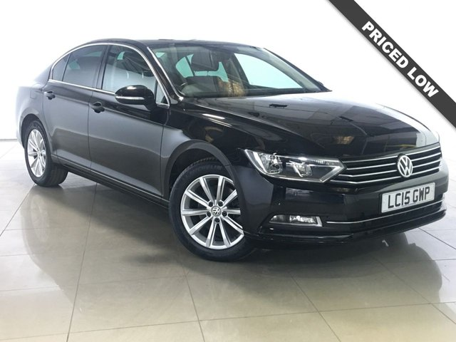 View our 2015 15 VOLKSWAGEN PASSAT 1.6 SE BUSINESS TDI BLUEMOTION TECHNOLOGY 4d 119 BHP