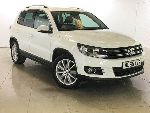 View our 2015 65 VOLKSWAGEN TIGUAN 2.0 MATCH EDITION NAV TDI BMT 5d 148 BHP