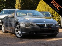 USED 2005 05 BMW 6 SERIES 4.4 645CI 2d AUTO 329 BHP (NAV)