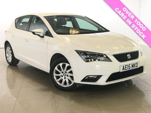 View our 2015 15 SEAT LEON 1.6 TDI SE TECHNOLOGY DSG 5d AUTO 105 BHP