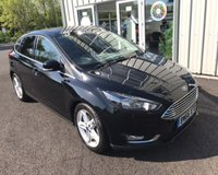 USED 2017 66 FORD FOCUS 1.0 TITANIUM NAVIGATOR ECOBOOST 125 BHP THIS VEHICLE IS AT SITE 1 - TO VIEW CALL US ON 01903 892 224