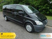 2012 MERCEDES-BENZ VITO 2.1 113 CDI TRAVELINER 5d AUTO 136 BHP £14500.00