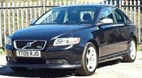 2009 VOLVO S40 1.6 SPORT 4d 100 BHP
