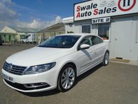 USED 2014 64 VOLKSWAGEN CC 2.0 GT TDI BLUEMOTION TECHNOLOGY 4d 138 BHP £50 PER WEEK NO DEPOSIT - SEE FINANCE LINK BELOW
