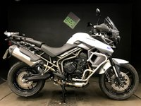 2016 TRIUMPH TIGER 800 XR. 2016. FSH. ABS. TRACTION CONTROL. 5854 MILES. C STAND. BARS £6750.00