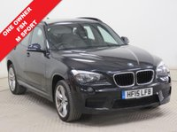 USED 2015 15 BMW X1 2.0 SDRIVE18D M SPORT 5d 141 BHP ***1 Owner, Full BMW Service History, serviced in April 2016 at 13,333 miles and June 2017 at 28,739 miles. M Sport, Leather, Parking Sensors, Bluetooth, Air Conditioning. Free RAC Warranty and Free RAC Breakdown Cover.***