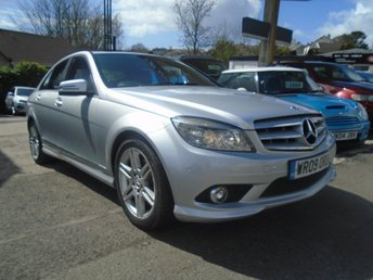 2009 MERCEDES-BENZ C CLASS 2.1 C220 CDI SPORT 4d AUTO 168 BHP £4995.00