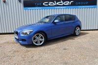 2013 BMW 1 SERIES 2.0 116D M SPORT 5d 114 BHP £10749.00