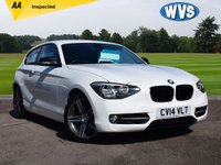 2014 BMW 1 SERIES 1.6 114I SPORT 3d 101 BHP £10299.00