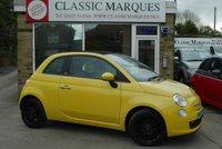 2012 FIAT 500 0.9 Convertible TWINAIR 3d 85 BHP £5990.00
