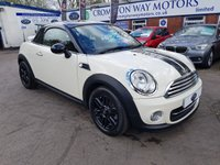2015 MINI COUPE 1.6 COOPER 2d 120 BHP £9240.00