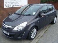 2013 VAUXHALL CORSA 1.4 SE 5d 98 BHP £6795.00