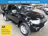 USED 2015 15 MITSUBISHI L200 2.5 DI-D 4X4 BARBARIAN LB DCB  AUTO 175 BHP -FACE LIFT MODEL- '' YOU'RE IN SAFE HANDS  ''  WITH THE AA DEALER PROMISE
