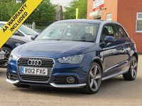USED 2012 12 AUDI A1 1.4 TFSI CONTRAST EDITION 3d AUTO 122 BHP AUTOMATIC + FULL AUDI SERVICE HISTORY