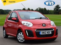 USED 2012 12 CITROEN C1 1.0 VTR 3d 67 BHP Low mileage plus this is cheap to tax and insure, an ideal first car, just £4199 with an independent AA inspection.