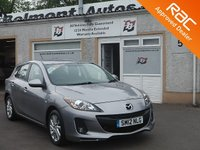 USED 2012 12 MAZDA 3 1.6 TS2 5d 103 BHP Low mileage -3 Service Stamps -Bluetooth - Heated windscreen