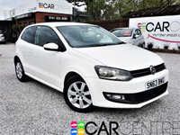 2013 VOLKSWAGEN POLO 1.2 MATCH EDITION 3d 69 BHP £5895.00