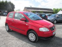 USED 2008 08 VOLKSWAGEN FOX 1.2 6V 3DR LOW MILEAGE SERVICE HISTORY