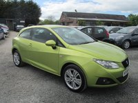 USED 2008 58 SEAT IBIZA 1.4 SE 3DR ALLOYS AIRCON ELECTRIC PACK