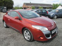 USED 2009 59 RENAULT MEGANE 1.6 DYNAMIQUE VVT 3DR COUPE ONLY 31000 MILES SERVICE HISTORY
