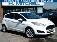 USED 2016 66 FORD FIESTA 1.0 TITANIUM SAT NAV  Eco Boost  99ps  5Dr Fiesta Titanium Eco Boost with Sat Nav
