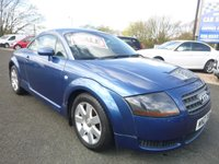 2004 AUDI TT 1.8 1d  £2950.00