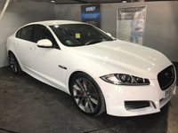 USED 2015 65 JAGUAR XF 3.0 D V6 S PORTFOLIO 4d AUTO 275 BHP Bluetooth : Satellite Navigation  :  DAB Radio  :  Full leather upholstery  :  Heated/Cooling front seats : Electric driver and passenger seats   :   Heated front screen   :   Paddleshift controls : Electrically adjustable steering wheel : Rear view camera : Front and rear parking sensors : Full service history
