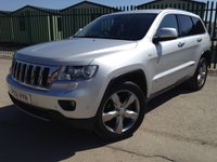 2011 JEEP GRAND CHEROKEE 3.0 V6 CRD LIMITED 5d AUTO 237 BHP FACELIFT SAT NAV LEATHER FSH £13490.00
