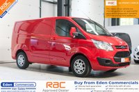 2015 FORD TRANSIT CUSTOM 2.2 270 LIMITED LR P/V *FINISHED IN STUNNING FORD RACE RED* £13250.00