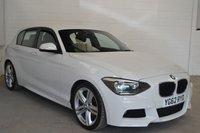 2012 BMW 1 SERIES 2.0 118D M SPORT 5d 141 BHP £11500.00