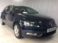 2012 VOLKSWAGEN PASSAT 1.6 S TDI BLUEMOTION TECHNOLOGY 4d 104 BHP