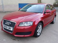 USED 2008 08 AUDI A3 1.9 TDI 5d 103 BHP FULL YEAR MOT +   SERVICE RECORD +  1 PREVIOUS KEEPER ++  ALLOY WHEELS ++  AIR CONDITIONING ++