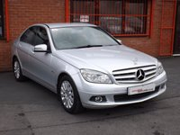 USED 2009 09 MERCEDES-BENZ C CLASS C220 CDI ELEGANCE 2.1 4d AUTO  2 OWNERS - MOT 1/19 - LEATHER