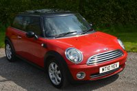 USED 2010 10 MINI HATCH COOPER 1.6 COOPER 3d 122 BHP 1 FORMER FDSH PANORAMIC GLASS ROOF CRUISE BLUETOOTH AC LEATHER