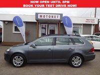USED 2012 12 VOLKSWAGEN GOLF 1.6 SE TDI BLUEMOTION 5DR DIESEL  BHP ONLY £20 ROAD TAX PER YEAR