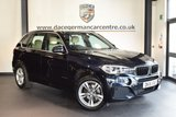 USED 2015 15 BMW X5 3.0 XDRIVE30D M SPORT 5DR AUTO 255 BHP Pro SAT NAV Full Service History 1 Owner  + FULL CREAM LEATHER INTERIOR + FULL BMW SERVICE HISTORY + PRO SATELLITE NAVIGATION + XENON LIGHTS + HEATED SPORT SEATS WITH MEMORY + BLUETOOTH + DAB RADIO + CRUISE CONTROL + PARKING SENSORS + 19 INCH ALLOY WHEELS +