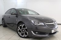 USED 2014 14 VAUXHALL INSIGNIA 2.0 SRI NAV VX-LINE CDTI ECOFLEX S/S 5DR 160 BHP FULL SERVICE HISTORY + HEATED LEATHER SEATS + SAT NAVIGATION + BLUETOOTH + PARKING SENSOR + CRUISE CONTROL + MULTI FUNCTION WHEEL + 19 INCH ALLOY WHEELS